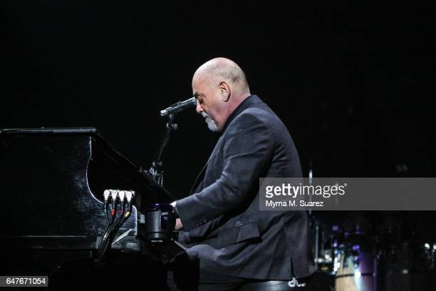 Billy joel in concert march 3 2017 stock fotos und bilder getty images for Billy joel madison square garden march 3