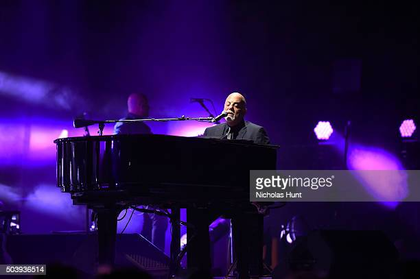 Billy Joel performs at Madison Square Garden on January 7, 2016 in New York City.