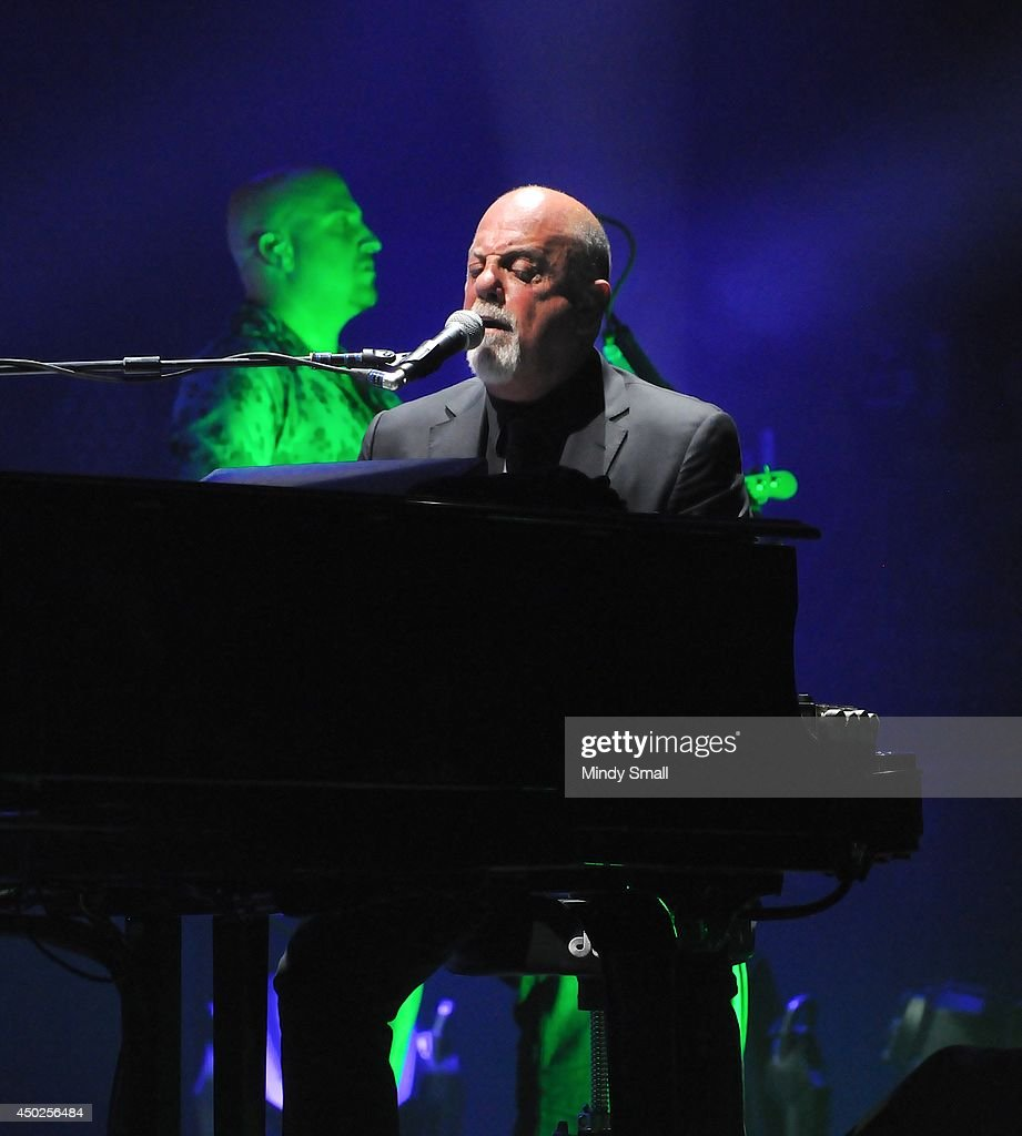 Billy Joel performs at MGM Grand Garden Arena on June 7, 2014 in Las Vegas, Nevada.