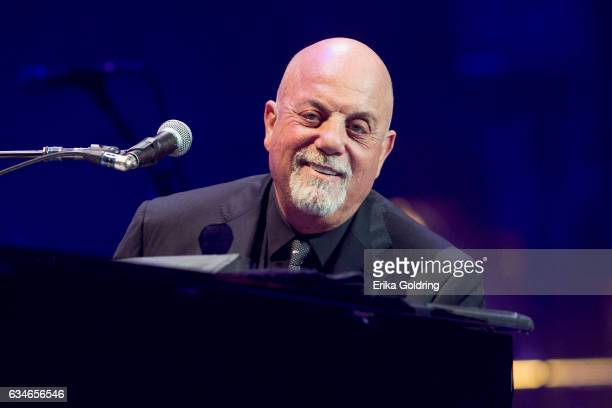 Billy Joel performs at Smoothie King Center on February 10, 2017 in New Orleans, Louisiana.