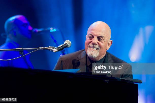 Billy Joel performs at Smoothie King Center on February 10 2017 in New Orleans Louisiana
