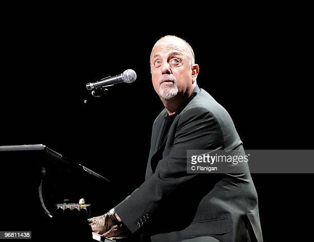 Billy Joel performs at the HP Pavilion on February 16 2010 in San Jose California