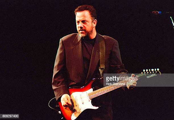 Billy Joel performs at The Omni Coliseum in Atlanta Georgia Circa 1987
