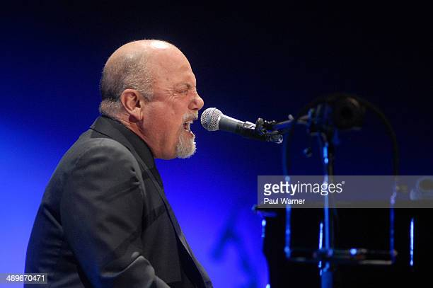 Billy Joel performs at The Palace of Auburn Hills on February 15 2014 in Auburn Hills Michigan