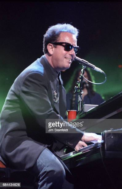 Billy Joel performs at the Target Center in Minneapolis Minnesota on November 15 1990