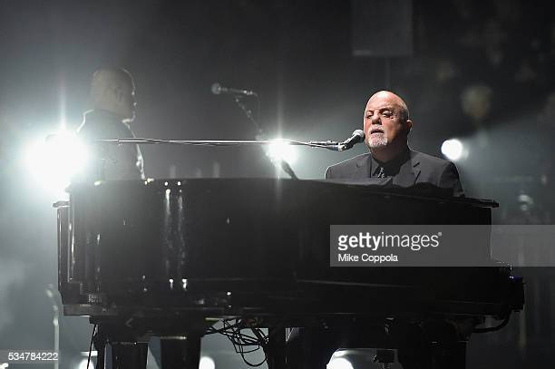 Billy Joel performs in concert at Madison Square Garden on May 27 2016 in New York City