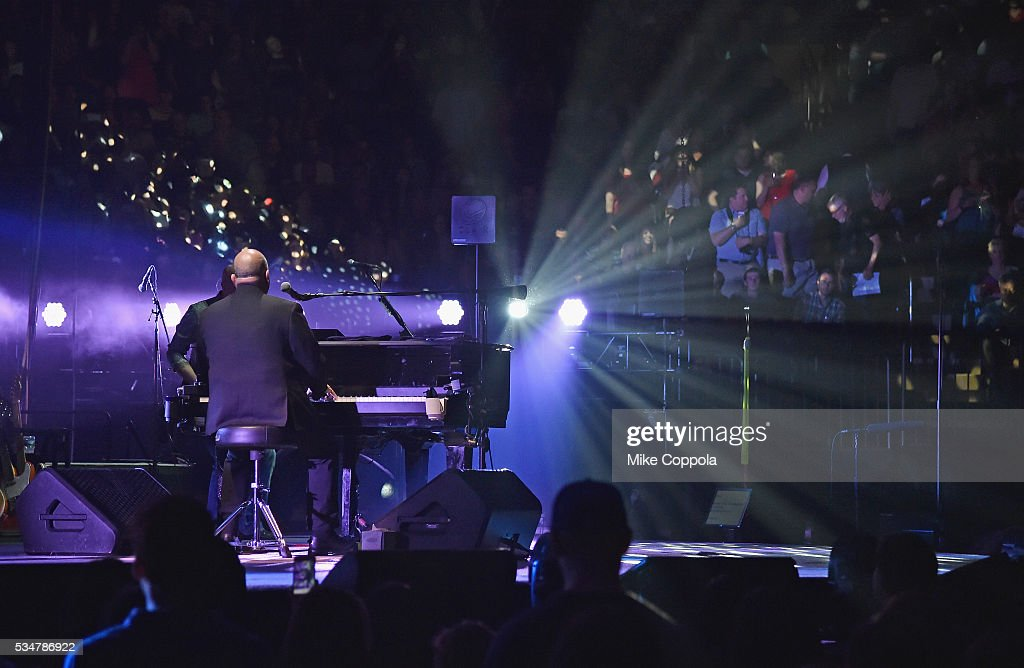 Billy Joel Performs In Concert At Madison Square Garden On May 27, 2016 In  New