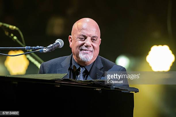 Billy Joel performs onstage at his 31st consecutive show at Madison Square Garden on July 20, 2016 in New York City.