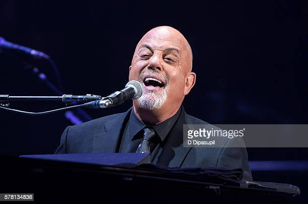 Billy Joel performs onstage at his 31st consecutive show at Madison Square Garden on July 20 2016 in New York City