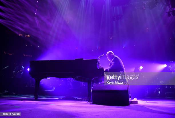 Billy Joel performs onstage at Madison Square Garden on November 10 2018 in New York City