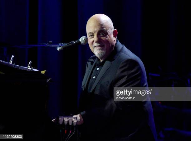 Billy Joel performs onstage at 'SiriusXM Presents Billy Joel Live From Miami Beach' at Faena Theater on December 05 2019 in Miami Beach Florida