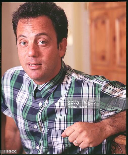 Billy Joel portrait USA 1987