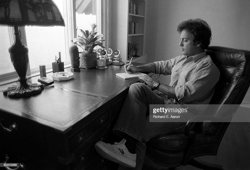 Billy Joel At Home In Los Angeles : News Photo