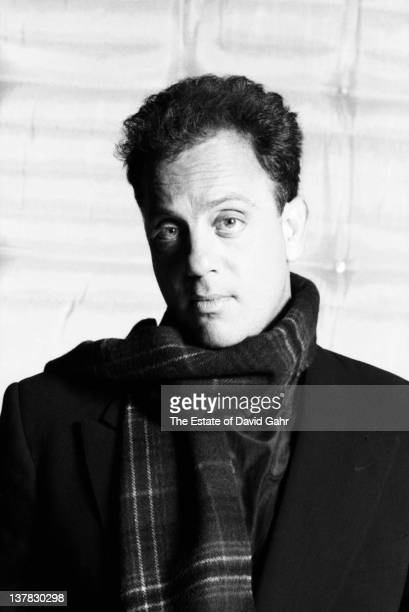 Billy Joel poses for a portrait on October 18 1989 during rehearsal at SIR Studios in New York City New York