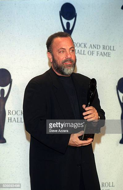 Billy Joel with his prize
