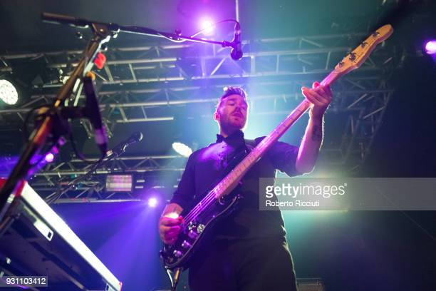 Billy Kennedy of Frightened Rabbit performs on stage at The Liquid Room on March 12 2018 in Edinburgh Scotland