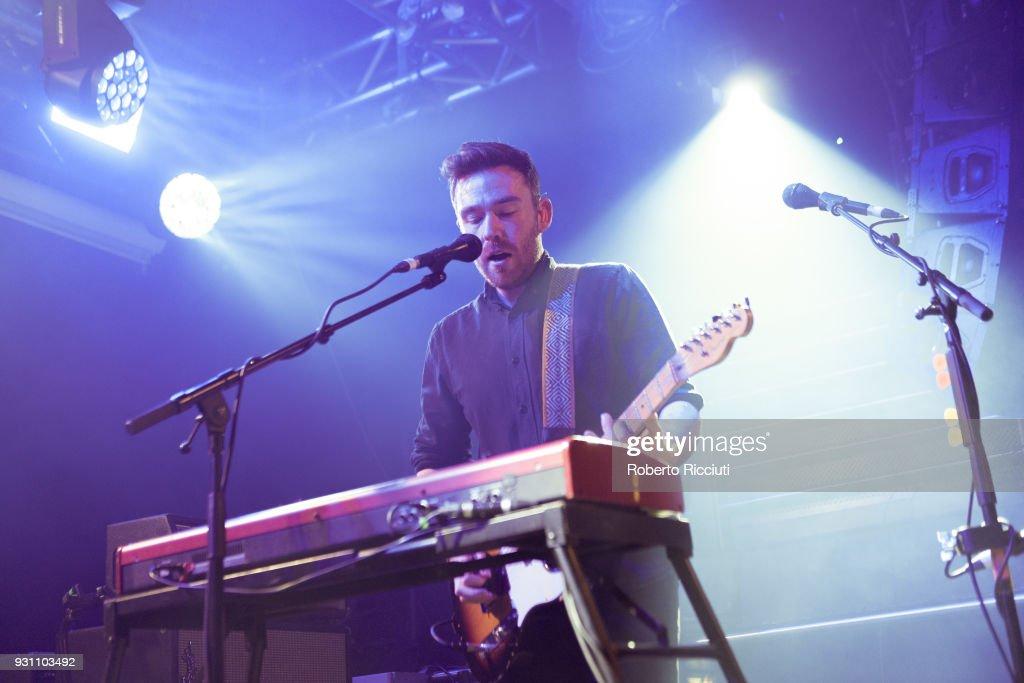 Frightened Rabbit Performs At The Liquid Room, Edinburgh : News Photo