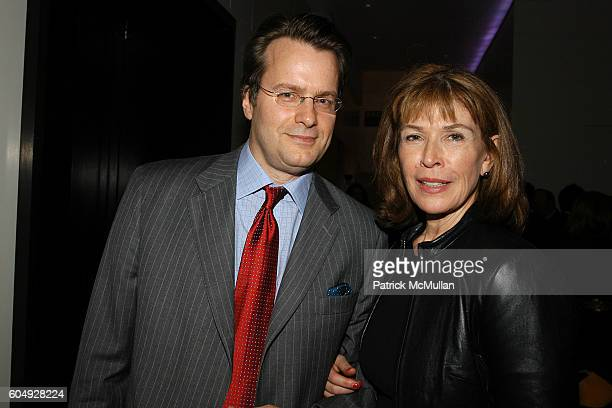 Billy Kimble and Sara Colleton attend A Cocktail Party Celebrating the Engagement of Jay McInerney and Anne Hearst at Tatiana and Campion Platt's...