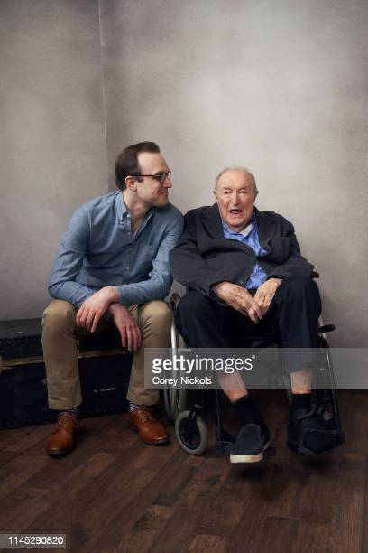 Billy Lyons and Wynn Handman of the film 'It Takes A Lunatic' pose for a portrait during the 2019 Tribeca Film Festival at Spring Studio on April 26...