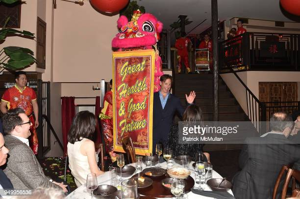 Billy Macklowe attends Billy Macklowe's 50th Birthday Spectacular at Chinese Tuxedo on April 21 2018 in New York City