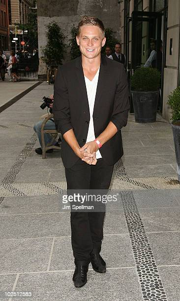 Billy Magnussen attends a screening of The Twilight Saga Eclipse hosted by The Cinema Society and Piaget at the Crosby Street Hotel on June 28 2010...