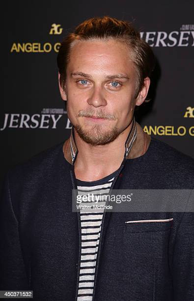 Billy Magnussen attends a special New York screening reception for 'Jersey Boys' hosted by Angelo Galasso at Angelo Galasso on June 2014 in New York...