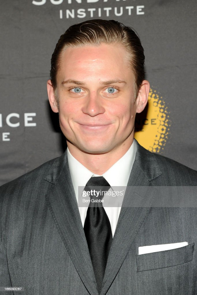 Billy Magnussen attends the 2013 Sundance Institute Theatre Program Benefit at Stephen Weiss Studio on April 8, 2013 in New York City.