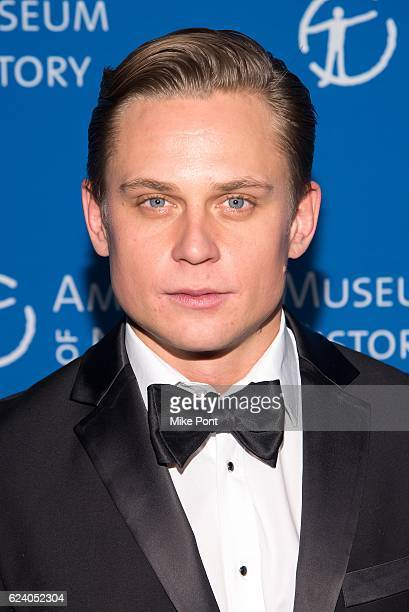 Billy Magnussen attends the 2016 American Museum Of Natural History Museum Gala at American Museum of Natural History on November 17 2016 in New York...