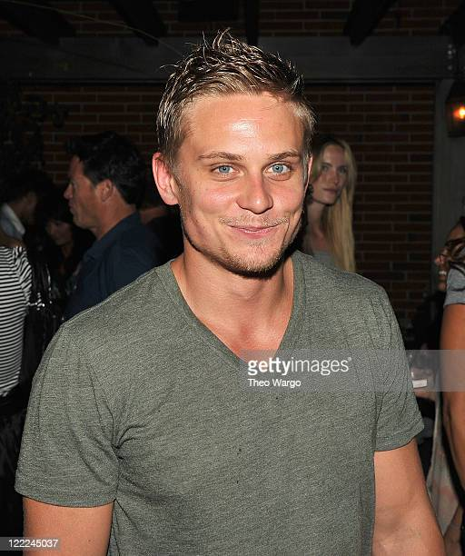 Billy Magnussen attends the after party for the Cinema Society Amnesty International screening of The Sorcerer's Apprentice at the Soho Grand Hotel...