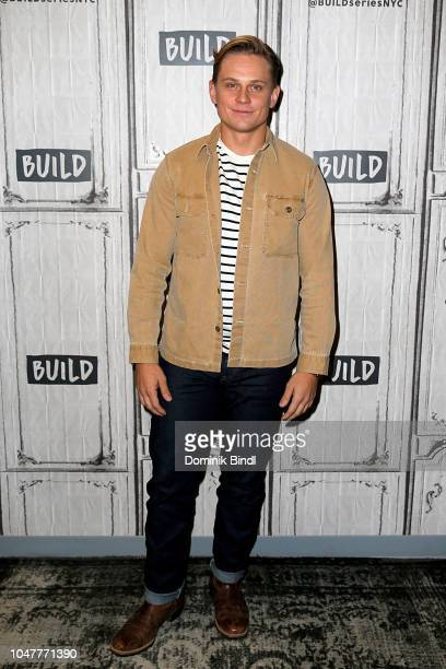Billy Magnussen attends the Build Series to discuss Maniac at Build Studio on October 8 2018 in New York City