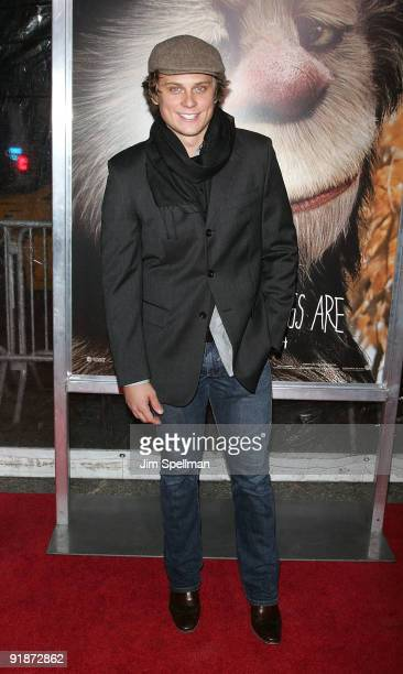 Billy Magnussen attends the Where the Wild Things Are premiere at Alice Tully Hall Lincoln Center on October 13 2009 in New York City