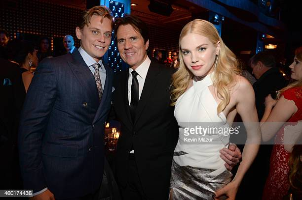Billy Magnussen director Rob Marshall and MacKenzie Mauzy attend the after party for the world premiere of 'Into the Woods' at The Edison Ballroom on...