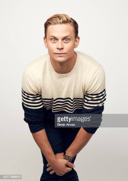 Billy Magnussen of CBS's 'Tell Me A Story' poses for a portrait during the 2018 Summer Television Critics Association Press Tour at The Beverly...