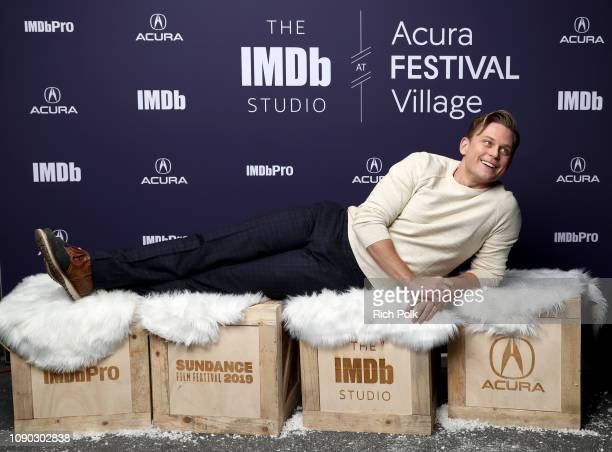 Billy Magnussen of 'Velvet Buzzsaw' attends The IMDb Studio at Acura Festival Village on location at The 2019 Sundance Film Festival Day 3 on January...