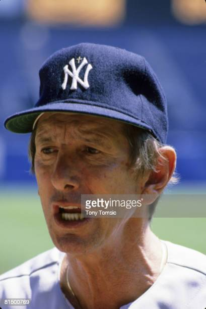 Billy Martin manager of the New York Yankees