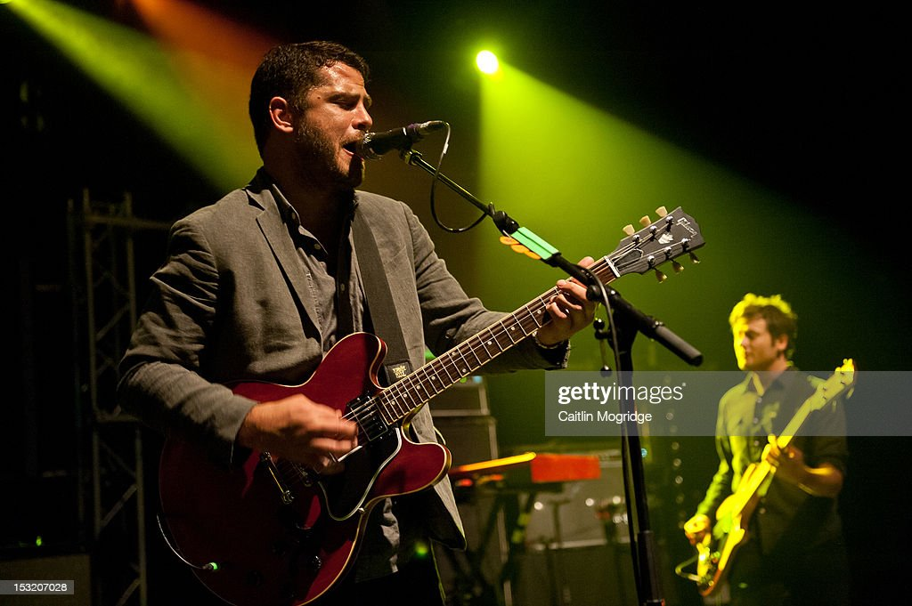 We Are Augustines Perform At Shepherds Bush Empire In London : News Photo