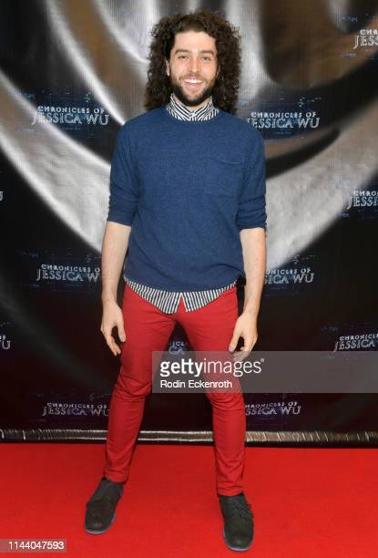 Billy McCartney attends the Chronicles of Jessica Wu Season 2 premiere at SAGAFTRA Foundation Screening Room on April 20 2019 in Los Angeles...