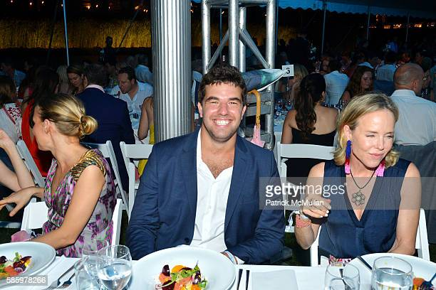 Billy McFarland and Carol Mac attend The 23rd Annual Watermill Center Summer Benefit Auction at The Watermill Center on July 30 2016 in Water Mill NY