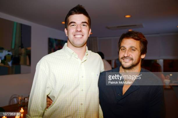 Billy McFarland and Todd Moscowitz attend ONE1 Hosts Dinner to Celebrate the Opening of the Magnises Townhouse at Magnises 22 Greenwich Ave on March...
