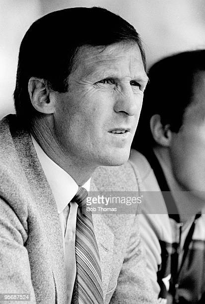 Billy McNeill Manchester City manager during a Division 2 football match against Barnsley held at Maine Road Stadium Manchester on 3rd September 1983...