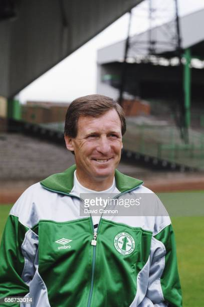Billy McNeill pictured at Park Head after returning to manage Celtic after spells at Manchester City and Aston Villa