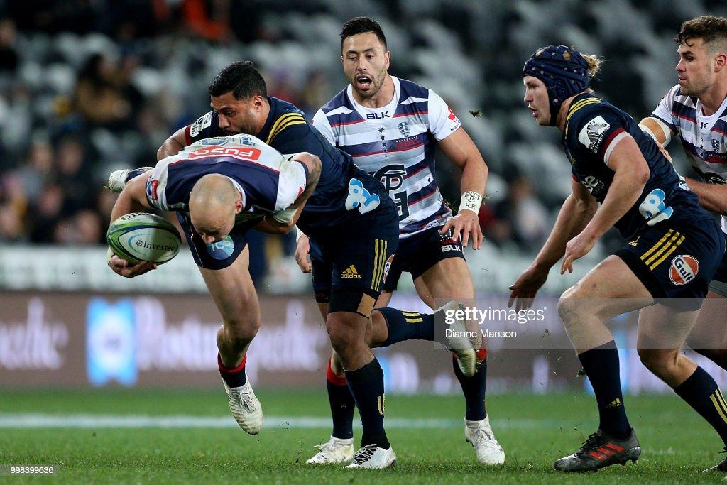 Super Rugby Rd 19 - Highlanders v Rebels