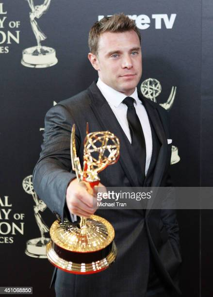 Billy Miller attends the 41st Annual Daytime Emmy Awards - press room held at The Beverly Hilton Hotel on June 22, 2014 in Beverly Hills, California.