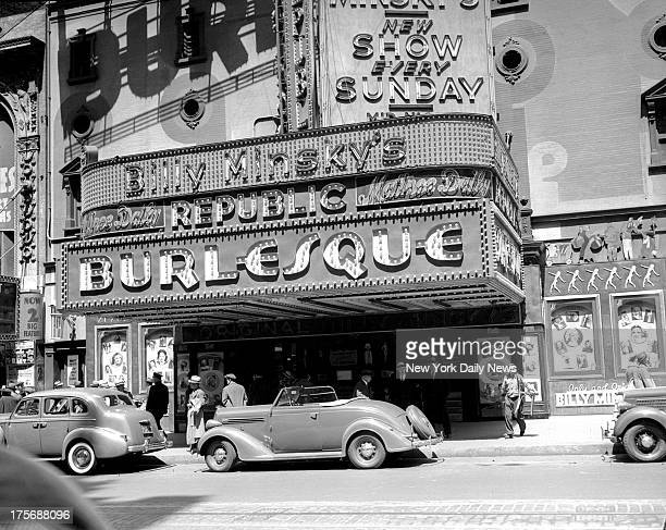 Billy Minsky's Burlesque Theatre at 209 West 42d Street