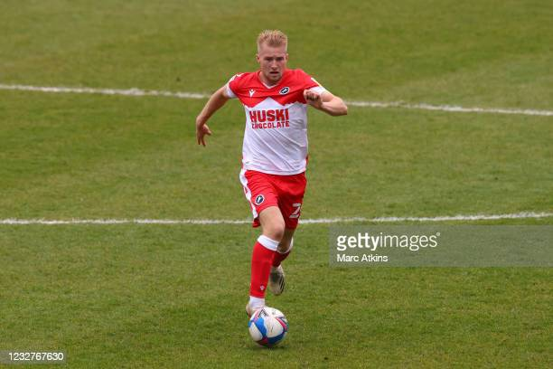 Billy Mitchell of Millwall during the Sky Bet Championship match between Coventry City and Millwall at St Andrew's Trillion Trophy Stadium on May 8,...