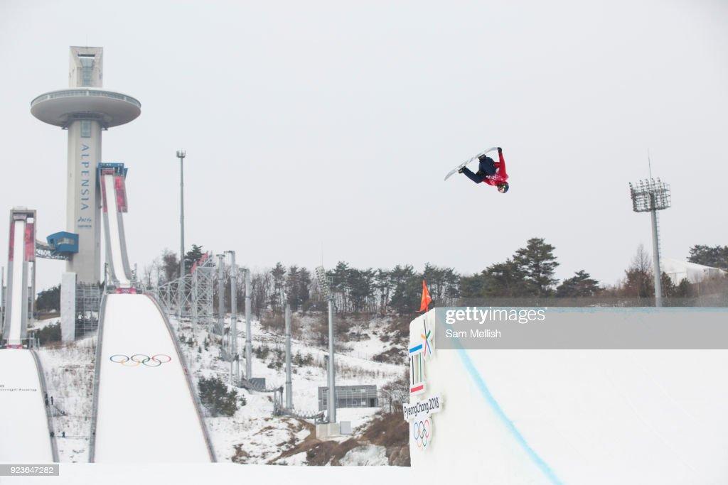 Pyeongchang 2018 Winter Olympics Mens Big Air Final : News Photo