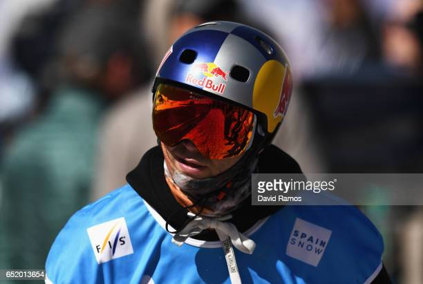 Billy Morgan of Great Britain competes during the Men's Slopestyle Final on day four of the FIS Freestyle Ski and Snowboard World Championships 2017...