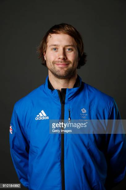 Billy Morgan poses at The Team GB Kitting Out Ahead Of Pyeongchang 2018 Winter Olympic Games on January 24 2018 in Stockport England
