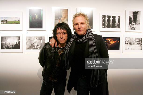 Billy Morrison and Matt Sorum during Brian Bowen Smith Brent Bolthouse and Brandon Boyd Art and Photography Show at Quixote Studios at Quixote...