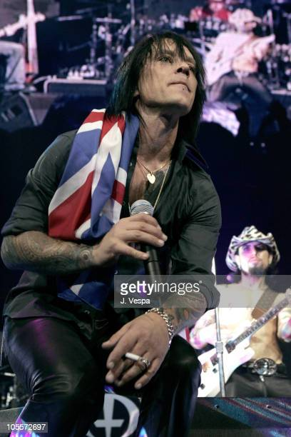 """Billy Morrison during All Star """"Music For Relief: Rebuilding South Asia"""" Benefit Concert - Show at Arrowhead Pond in Anaheim, California, United..."""